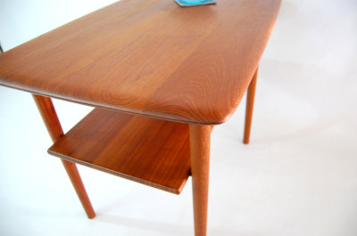 North west, West coast, WA, Washington, custom made, teak side table, second magazine shelf, mcm, mod, mid century modern, vintage, furniture, teak, mid century 55, midcentury55, Seattle, teak, Danish modern, Denmark, Peter Hvdit,