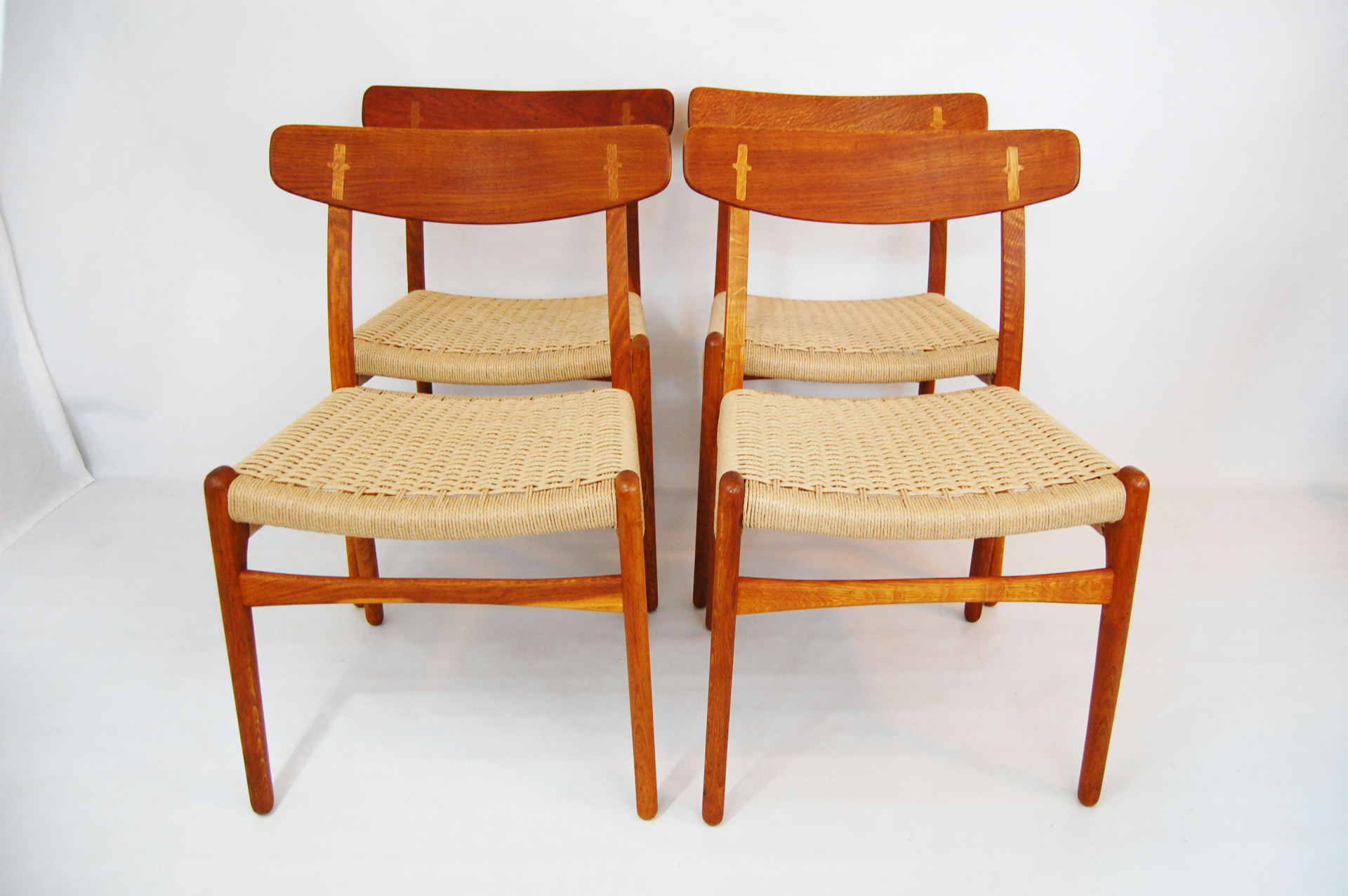 North west, West coast, mcm, mod, mid century modern, vintage, furniture, teak, mid century 55, Hans Wegner ch23, ch-23, dining chair, paper cord, midcentury55, Danish Modern, Sofabed, Seattle, Washington, Moller, Butterfly joint, oak, dining room furniture,