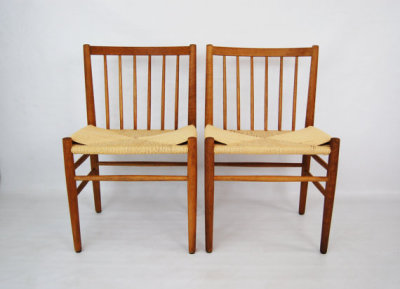 Jorgen Baekmark oak, dining chairs, North west, WA, West coast, paper cord, Seattle, Washington, Denmark, Scandinavian, mcm, mod, mid century modern, vintage, furniture, teak, mid century 55, midcentury55, Seattle, Danish modern,